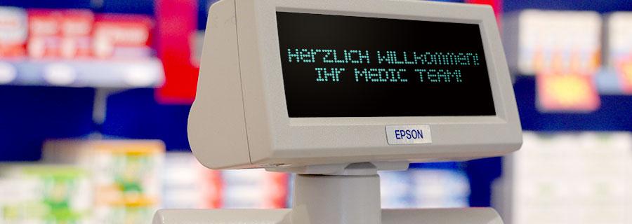Herzlich Willkommen in Ihrer Medic-Apotheke im ELBEPARK Dresden