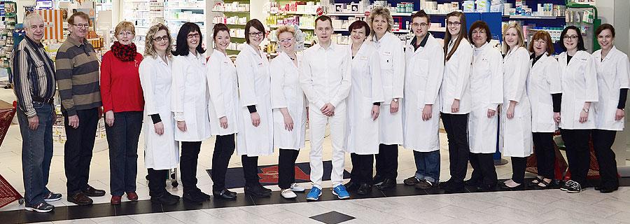 Ihr Team der Medic-Apotheke im ELBEPARK Dresden